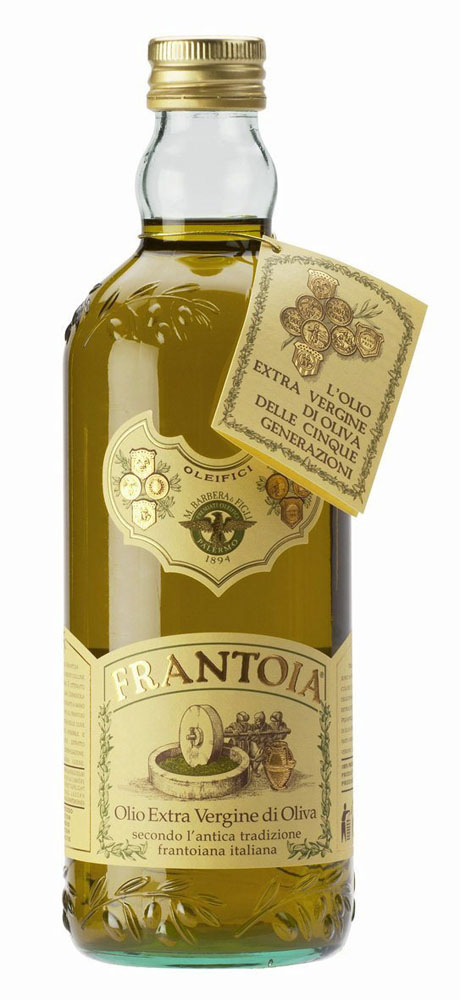 """""""Frantoia"""" olio extra vergine di oliva 1000ML Barbera"""