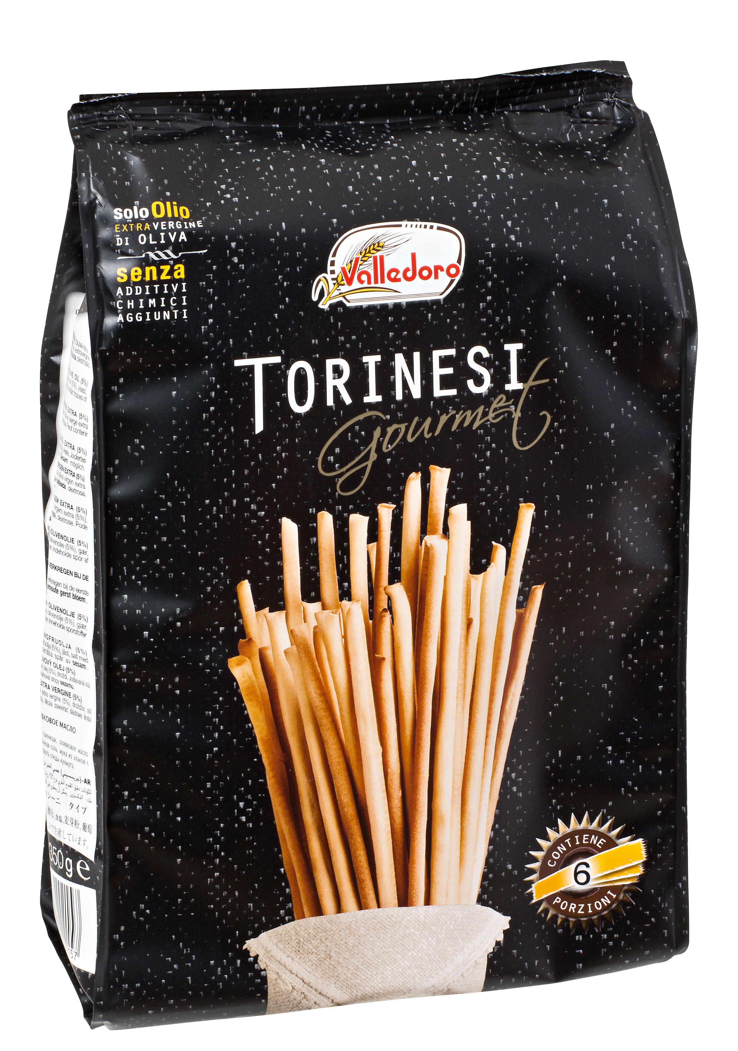 """Gourmet"" grissini torinesi, 350 g Beutel Valledoro"