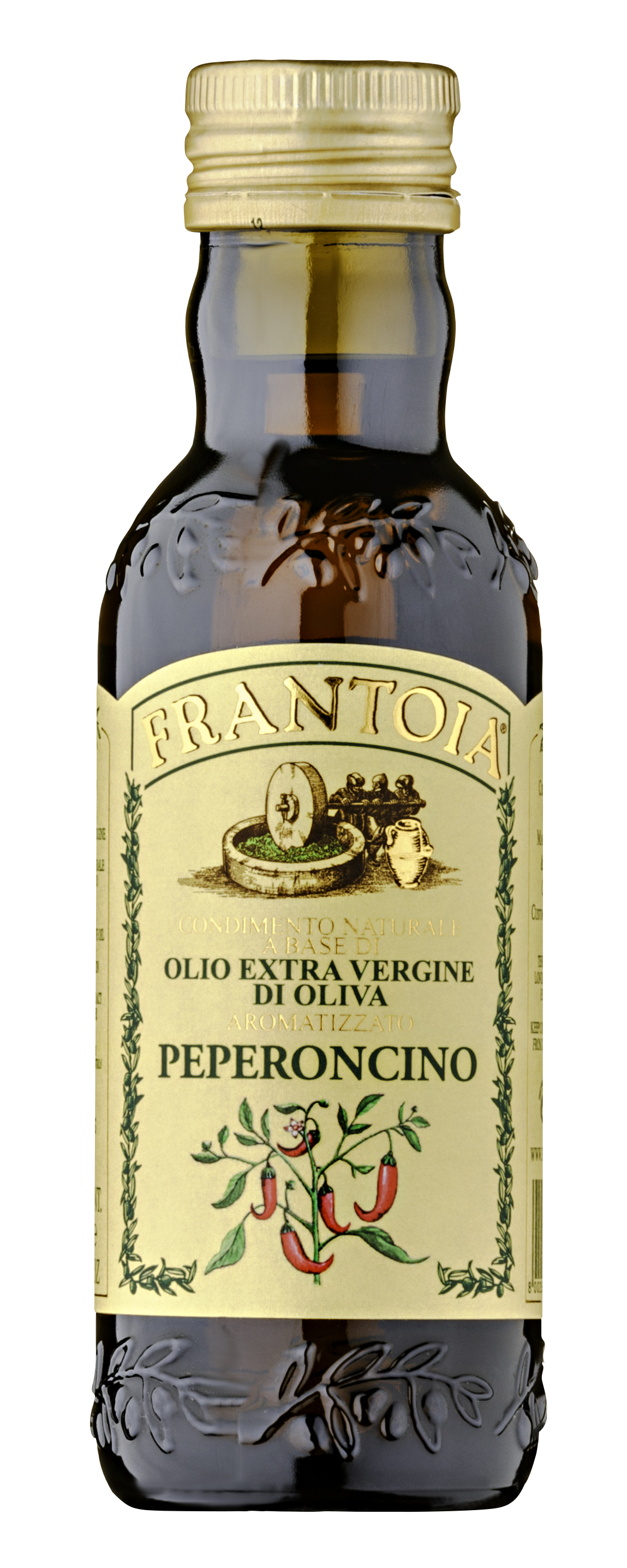 """""""Frantoia"""" olio e.v. aromatizzato al peperoncino 250 ML Barbera"""