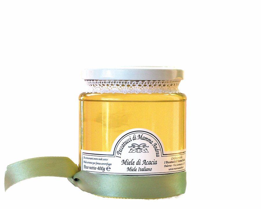 Miele di Acacia 400 g Glas I Peccatucci di Mamma Andrea