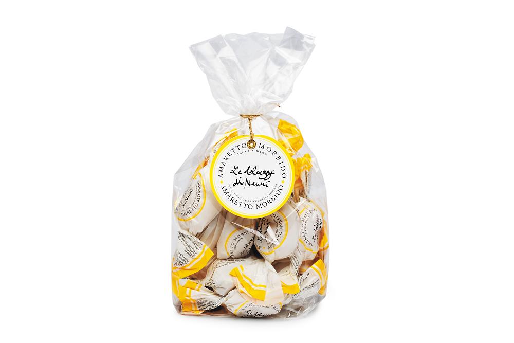 Amaretti morbidi classici, 305 Le dolcezze di Nanni 180 g Beutel