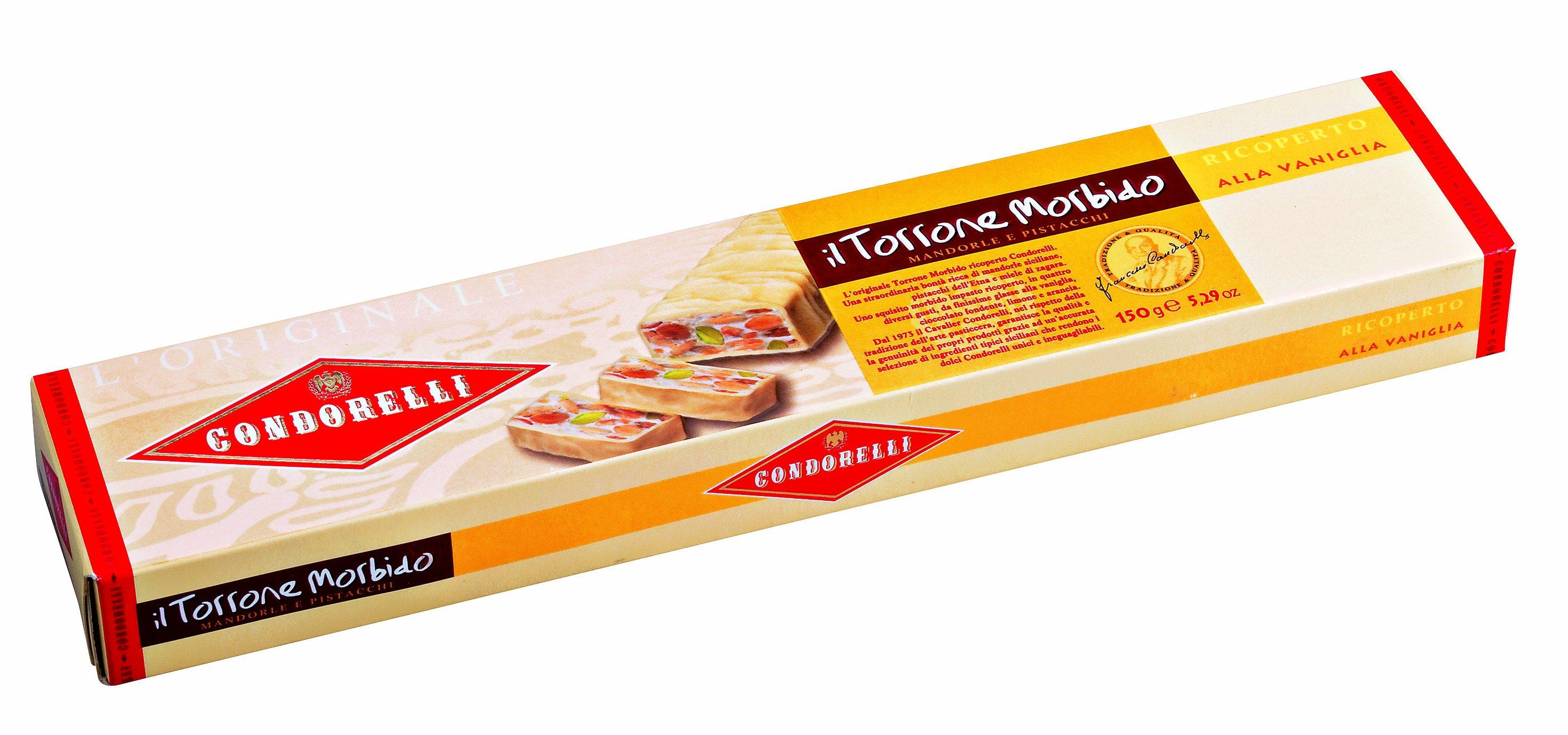 Torrone alla vaniglia, 150 g Condorelli
