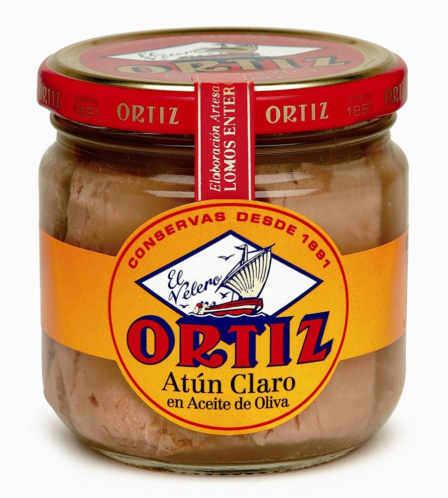 Yellowfin tonno all'olio di oliva 270 g Glas Ortiz