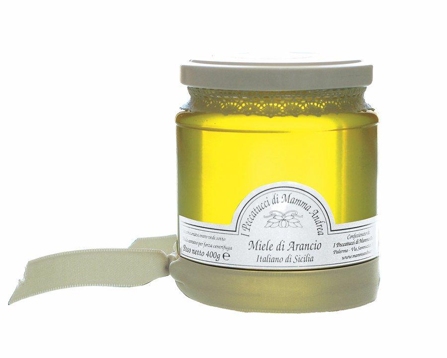 Miele di Arancia 400 g Glas I Peccatucci di Mamma Andrea