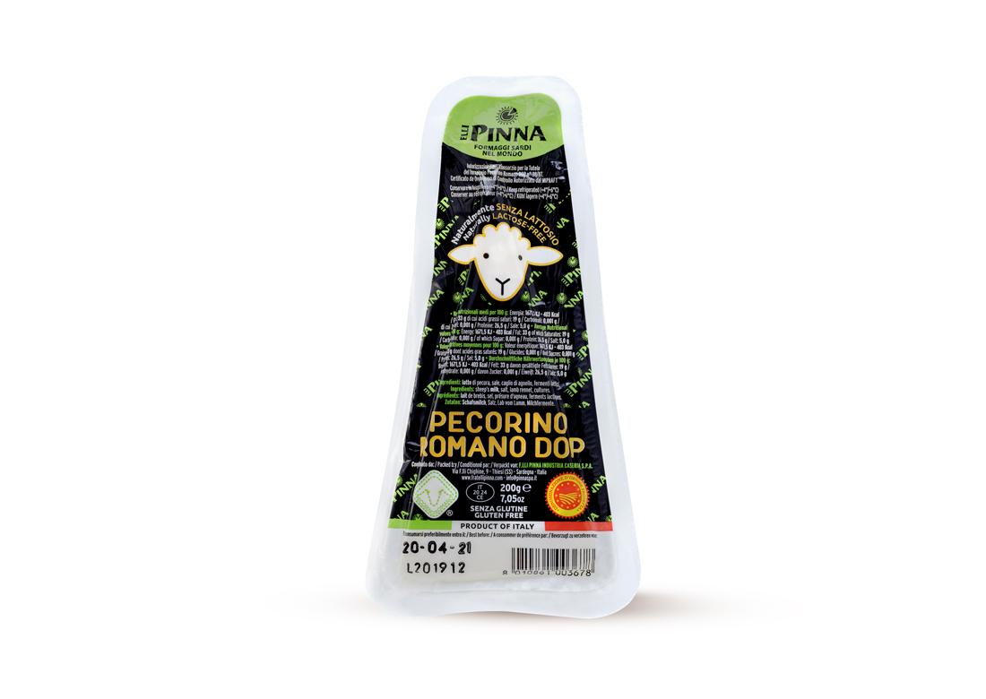 Pecorino Romano DOP 200 g Pinna  ( Kühlartikel)