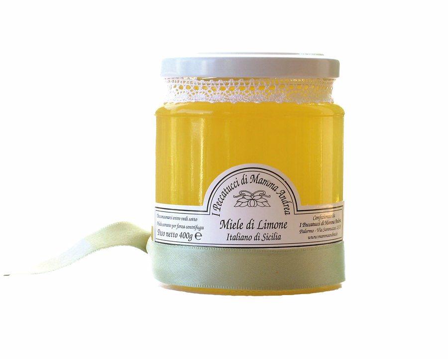 Miele di Limone 400 g Glas I Peccatucci di Mamma Andrea