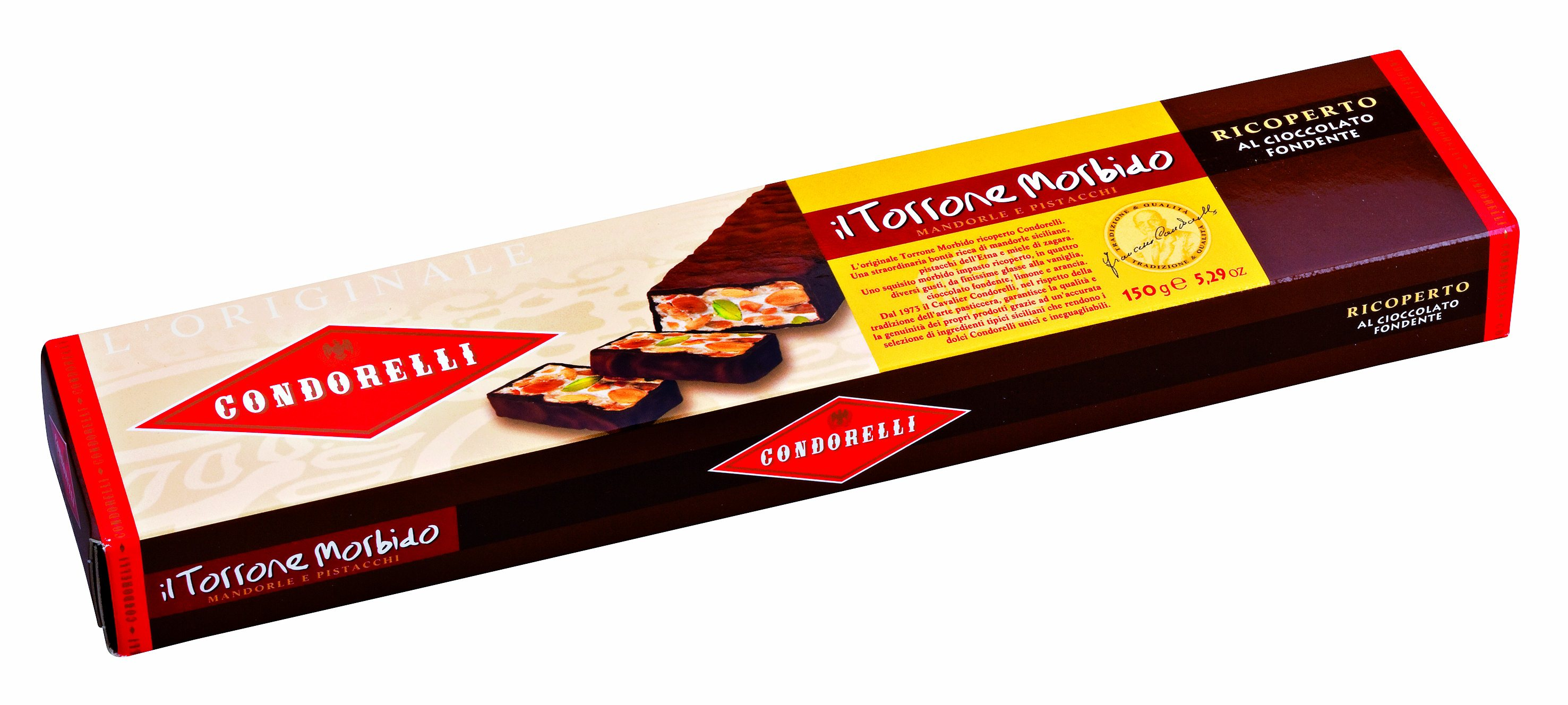 Torrone al cioccolato, 150 g Condorelli