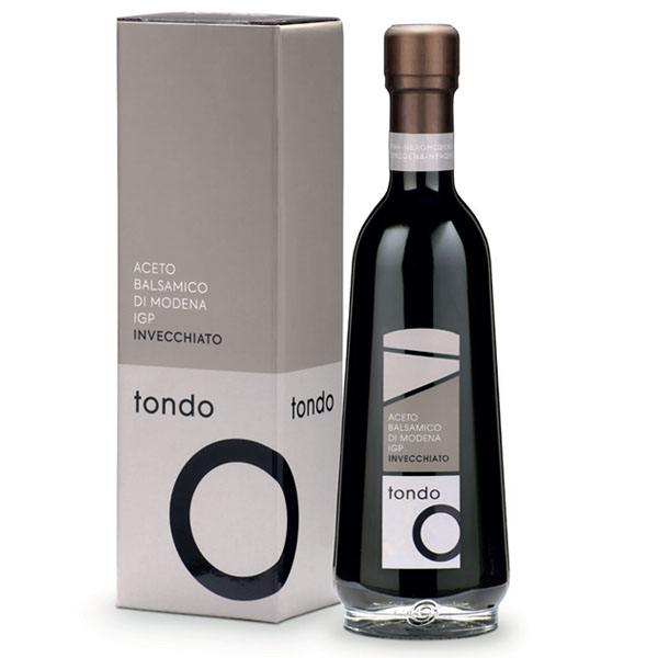 """""""Tondo"""" Aceto Balsamico di Modena IGP 250 ML Tondo Nero Modena"""
