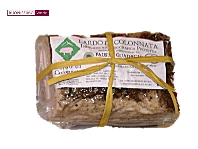 Lardo di Colonnata DOP ca. 350 g Fausto Guadagni  ( Kühlartikel)