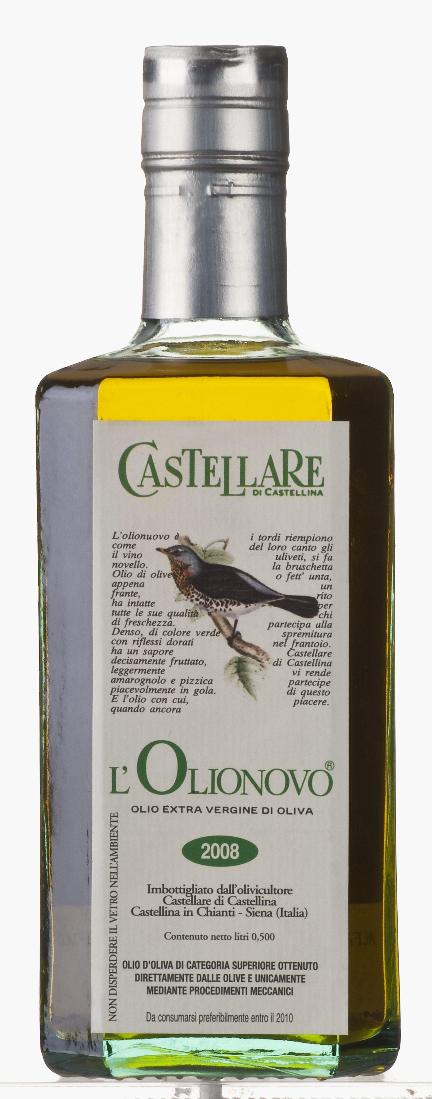 """""""L'Olionovo"""" olio extra vergine di olive 500 ML Castellare"""
