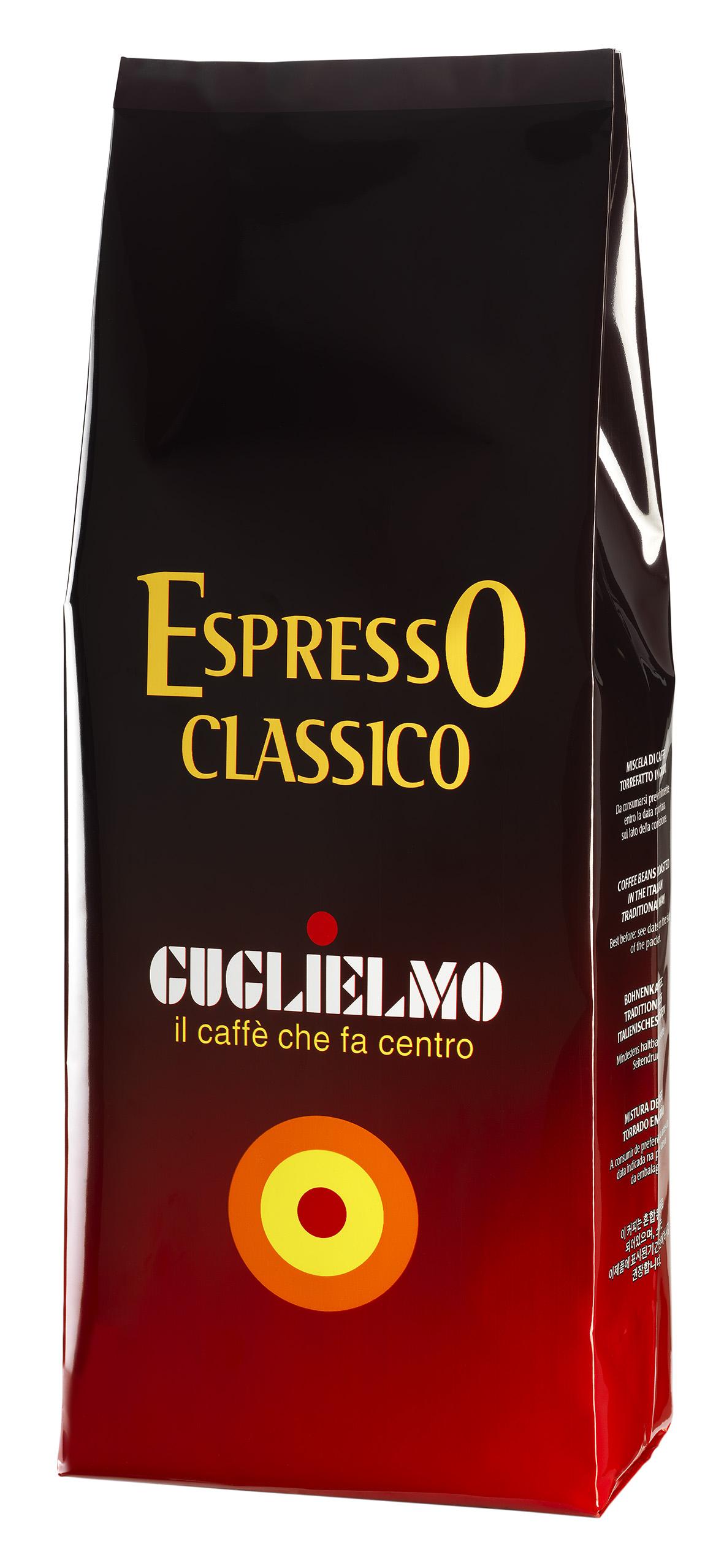"""Caffe """"Espresso Classico"""", 1 kg Packung Guglielmo"""