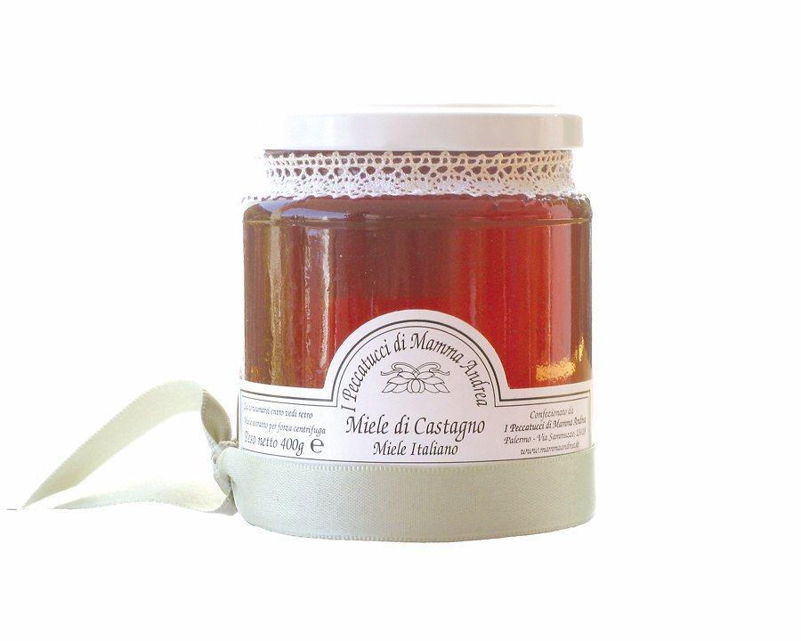 Miele di Castagno 400 g Glas I Peccatucci di Mamma Andrea