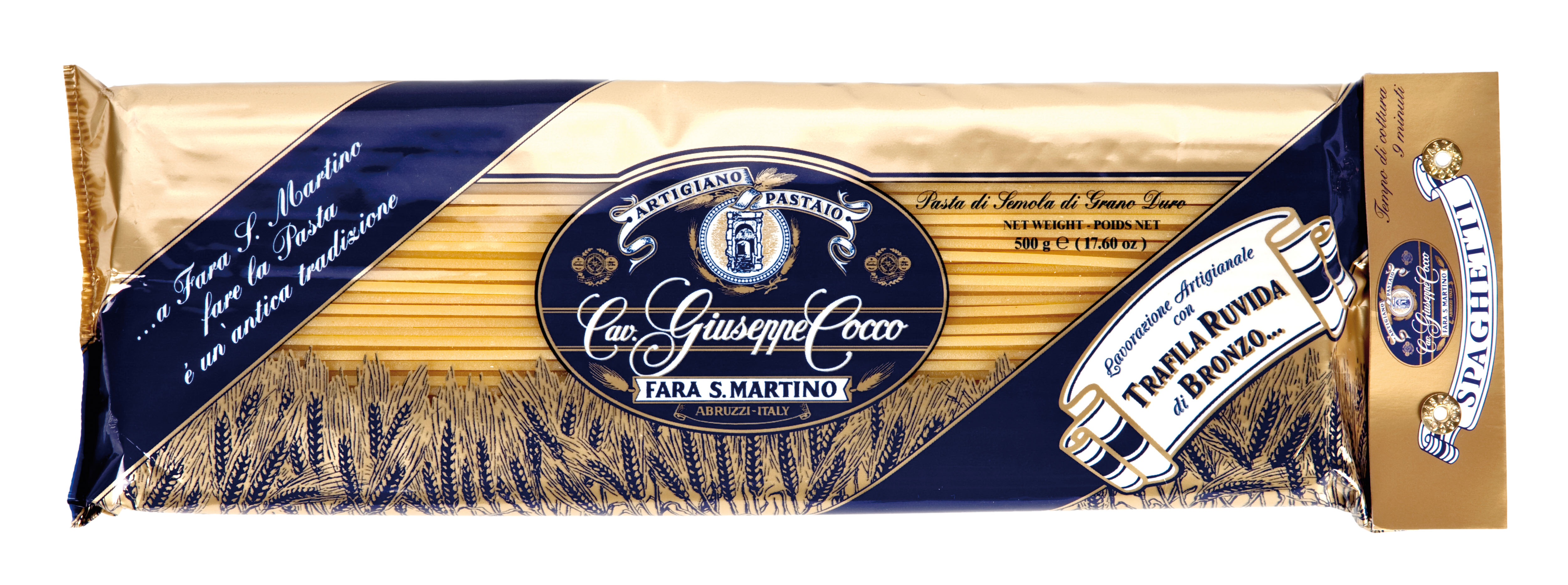 Spaghetti Nr. 33 500 g Packung Cocco