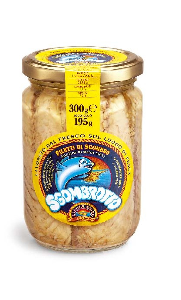 Sgombrotto alla Portoghese 300 g Glas L'Isola d'Oro