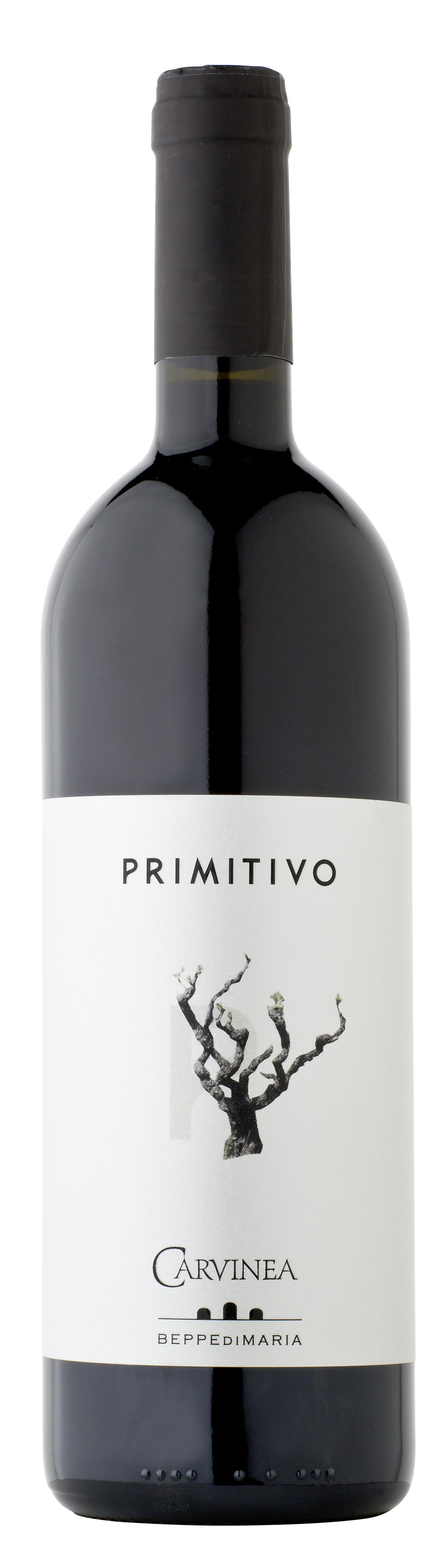 Primitivo Salento Rosso 2017 750 ML Carvinea
