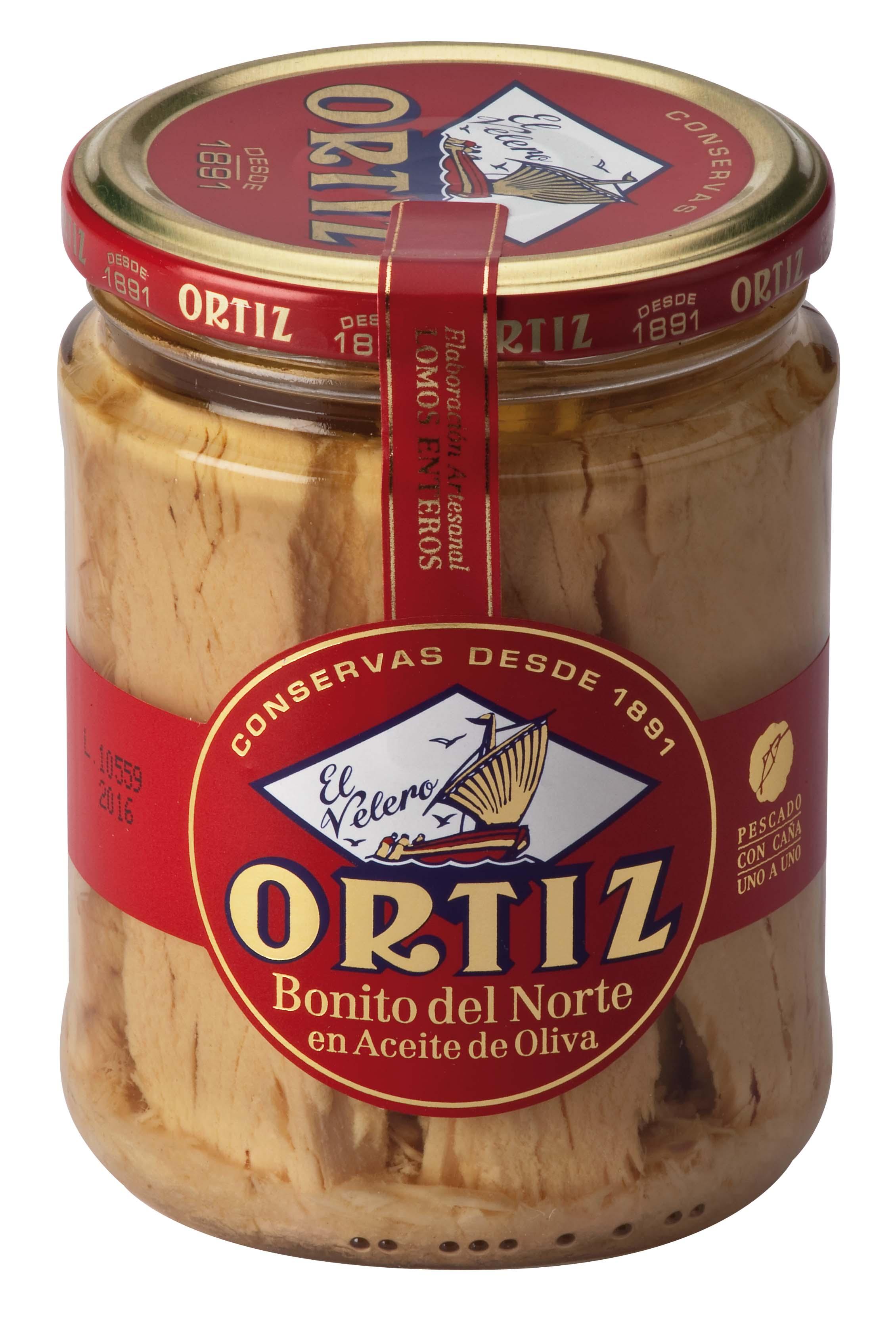 """""""Bonito del Norte"""" Tonno bianco all olio d'oliva 400 g Glas Ortiz"""