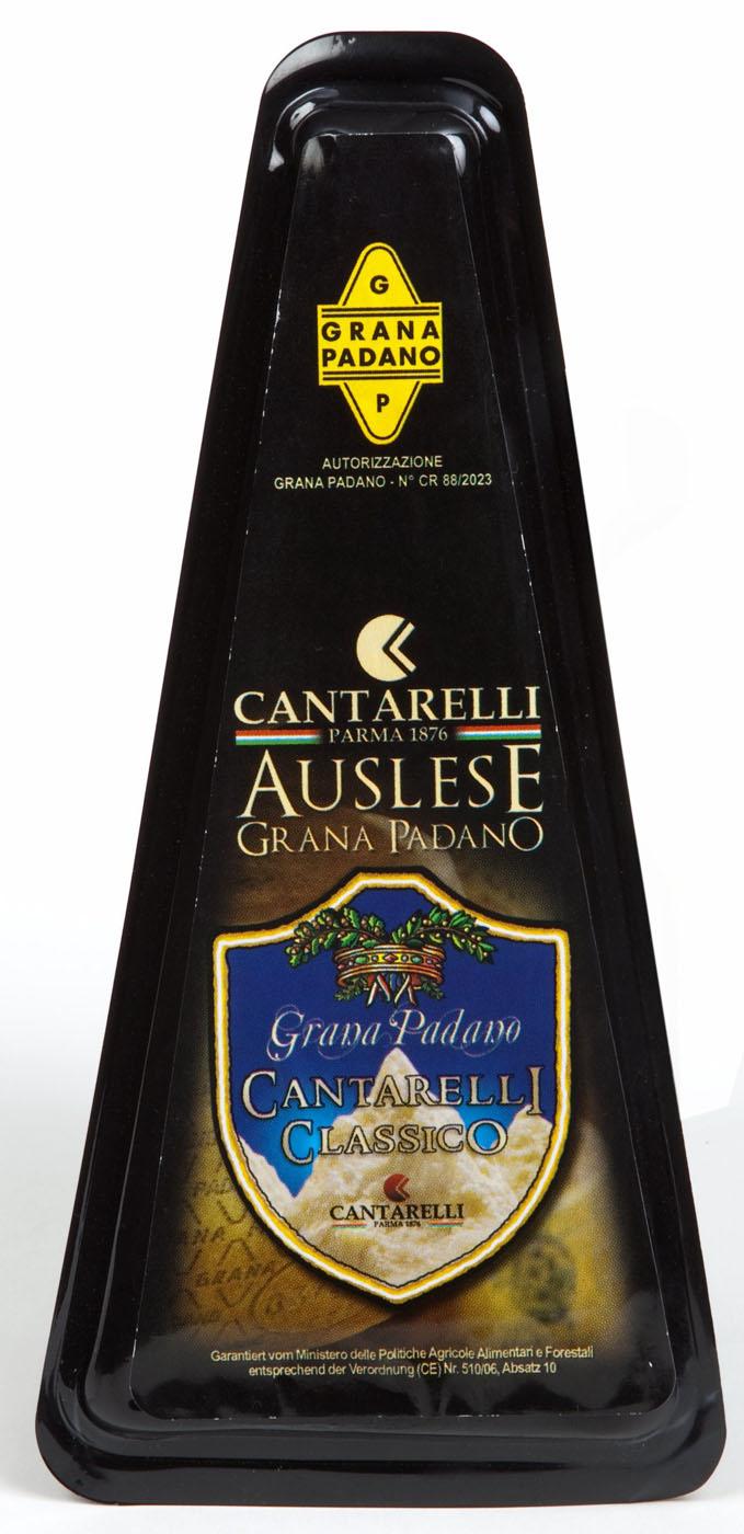Grana Padano Classico 200 g Cantarelli  ( Kühlartikel)
