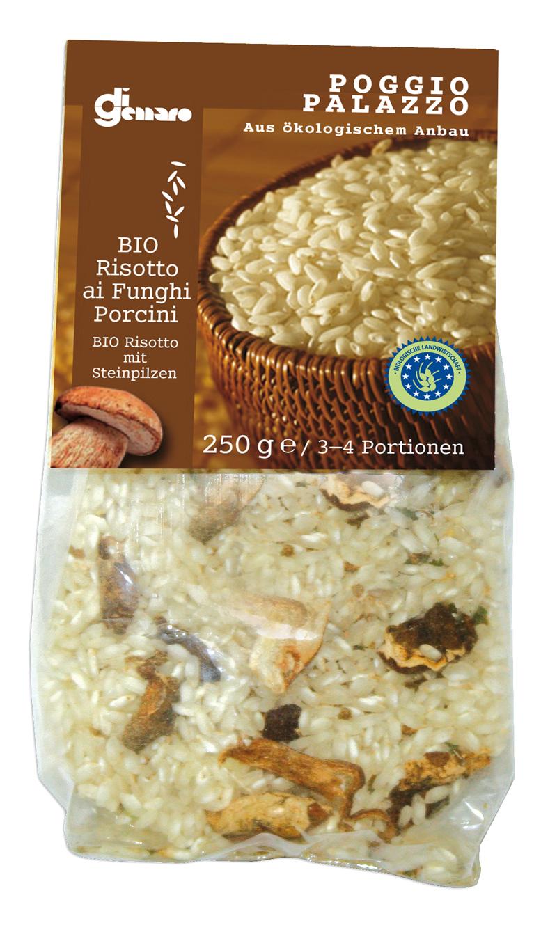 Risotto ai funghi porcini bio 250 g Belvedere