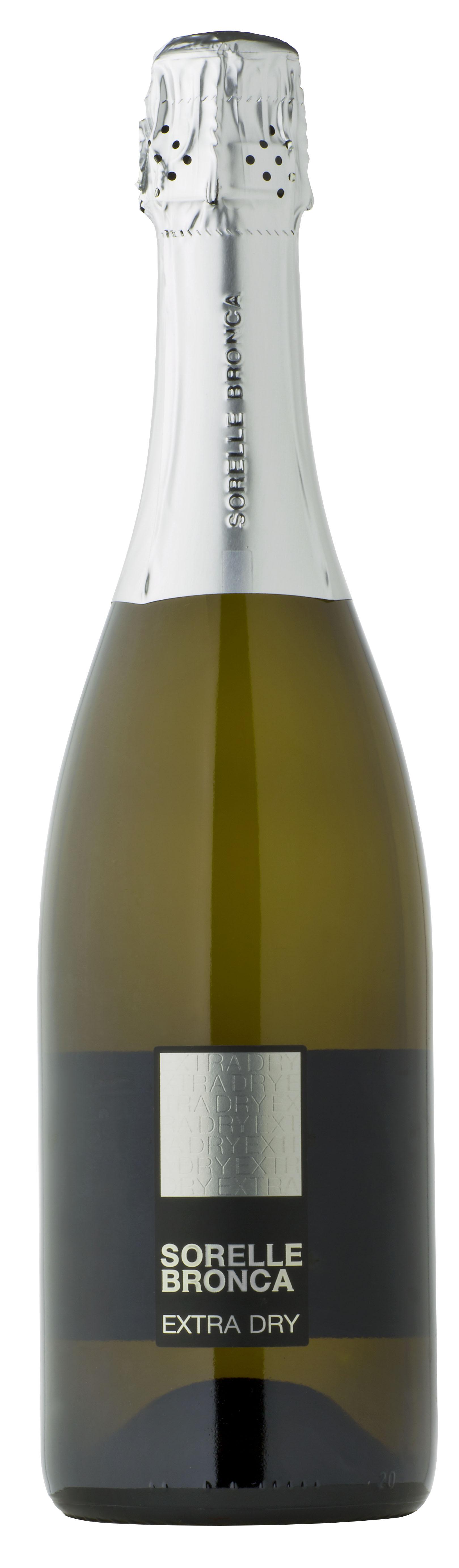 Prosecco Superiore extra dry di Valdob. 750 ML Sorelle Bronca