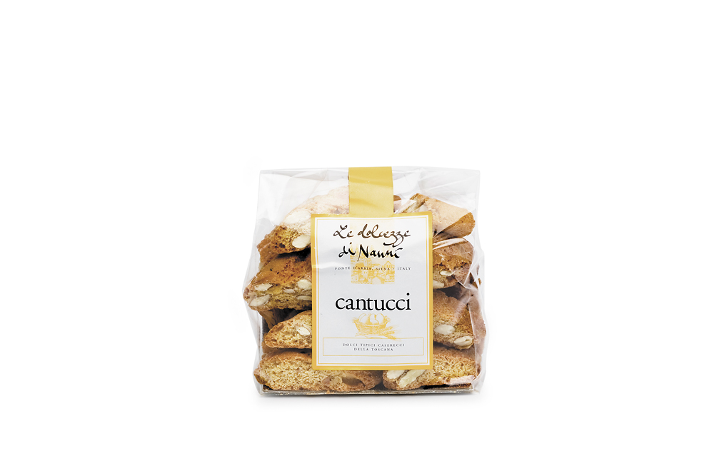 Cantucci classici, 225  Le dolcezze di Nanni 200 g Beutel