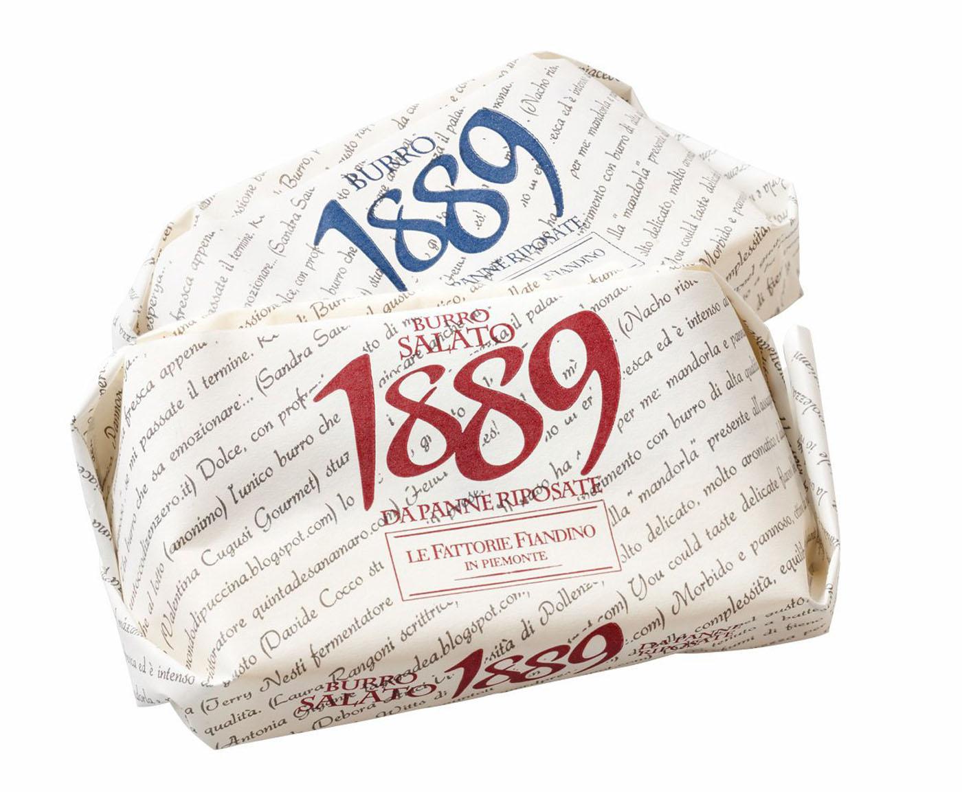 Burro 1889 salato 100 g Fiandino  ( Kühlartikel)