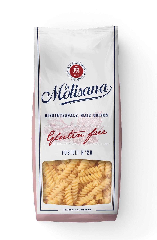 Fusilli senza glutine 400g La Molisana