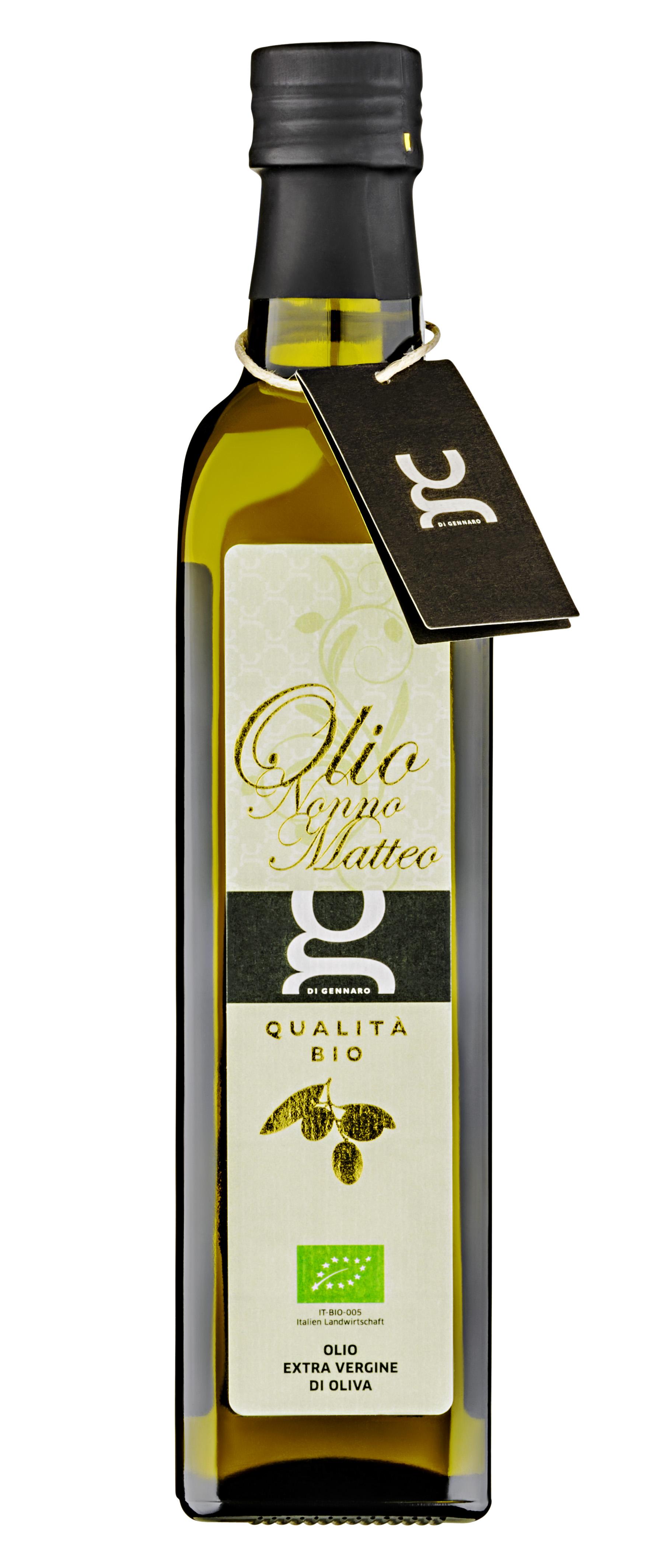 """""""Nonno Matteo"""" olio extra vergine di oliva bio 500 ML DIGE"""