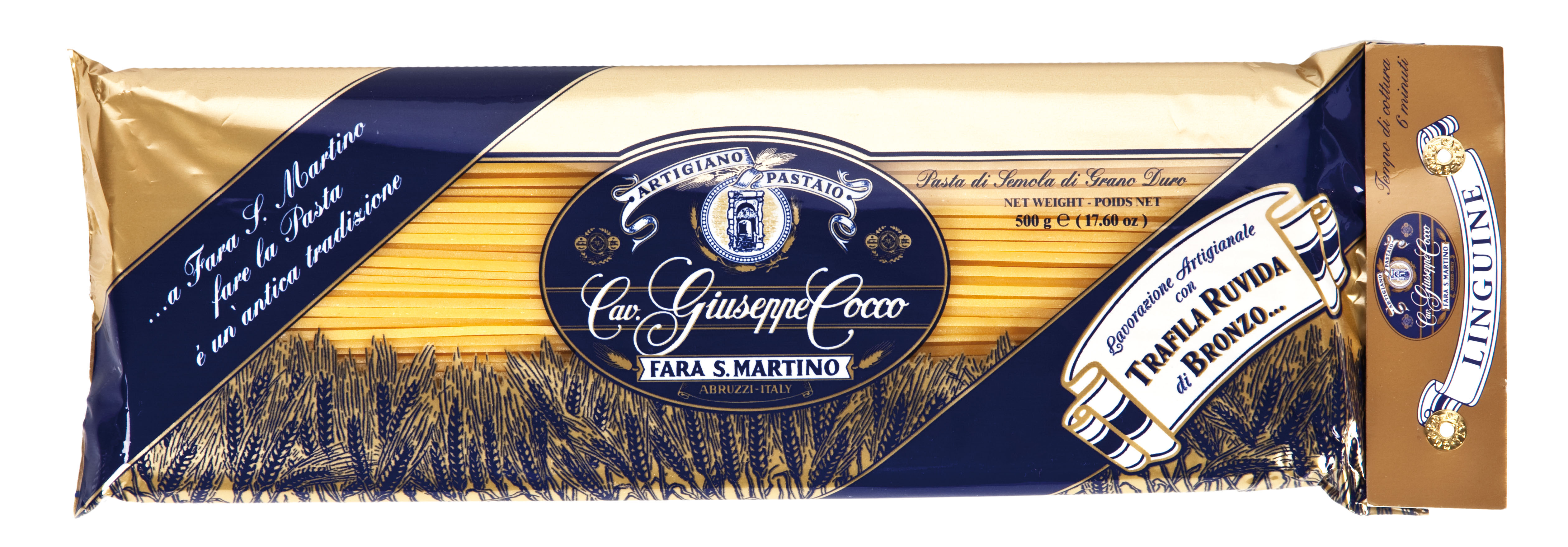 Linguine Nr.34 500 g Packung Cocco