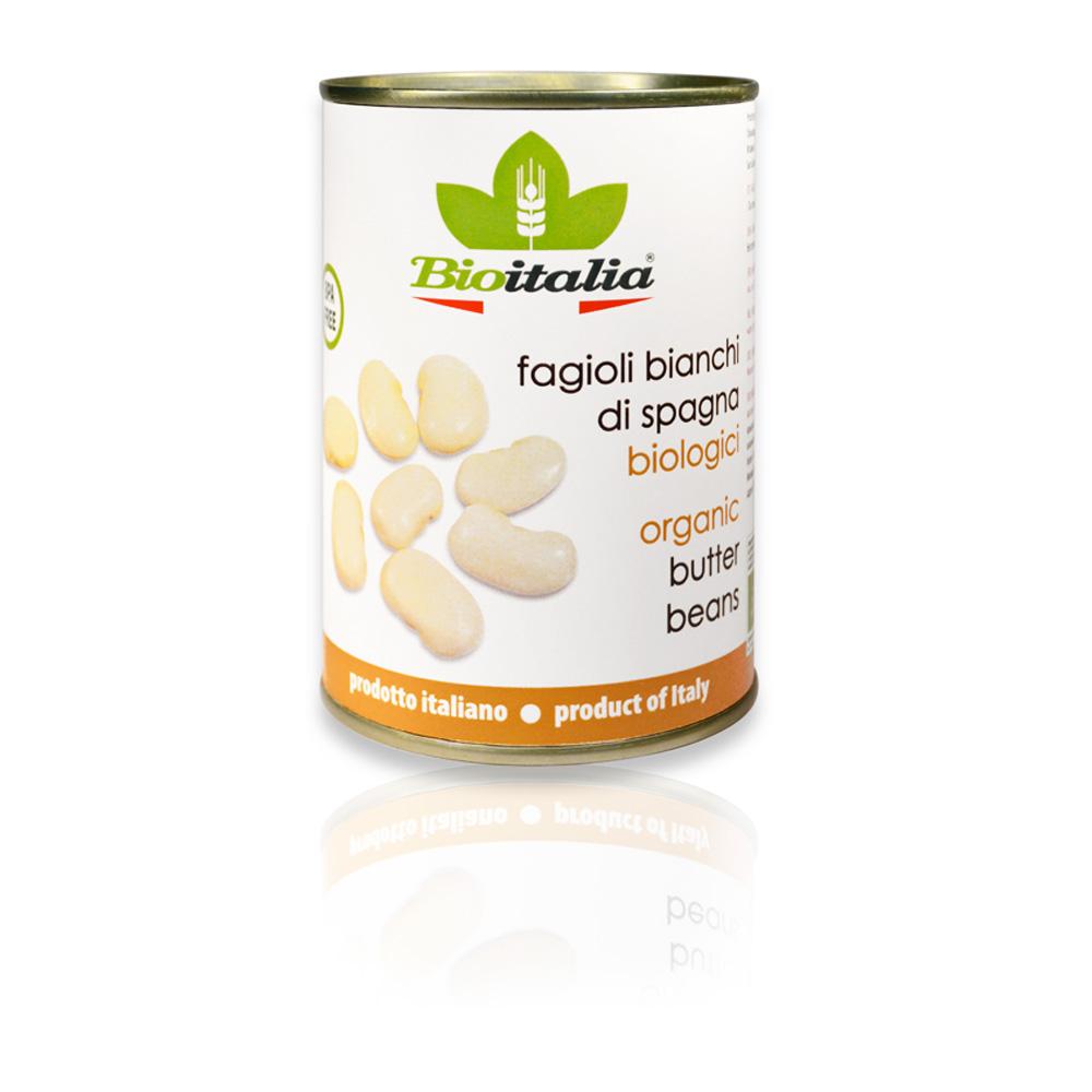 Fagioli bianchi di Spagna bio 400 g Dose Bioitalia